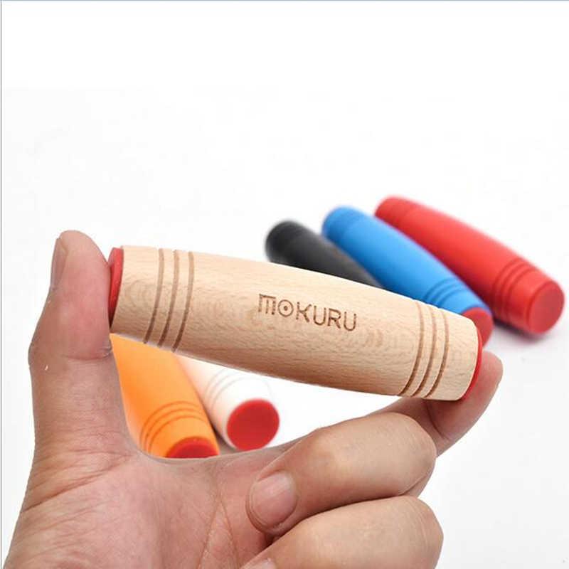 2018 nouveau Mokuru roll ver bureau retourner jouets le plus chaud Mokuru jouet Mokuru bâton soulager le Stress améliorer la mise au point idéal pour le Stress