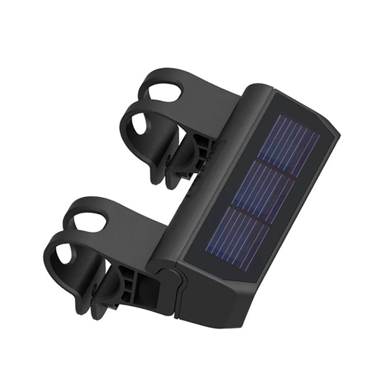 Bike Light Smart Solar Headlight Waterproof LED Bicycle Front Light Reading Light Super Bright For Mountain Bike Electric Scoote