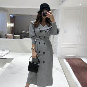 Coat 2018 Autumn And Winter Debutante WOMEN'S Dress New Products Slim Fit Slimming Thousands