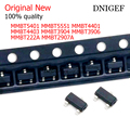 50 шт., транзистор SMD MMBT2222A MMBT2907A MMBT3904 MMBT3906 MMBT4401 MMBT4403 MMBT5401 5551, 1P 2F 1AM 2A 2X 2T 2L G1