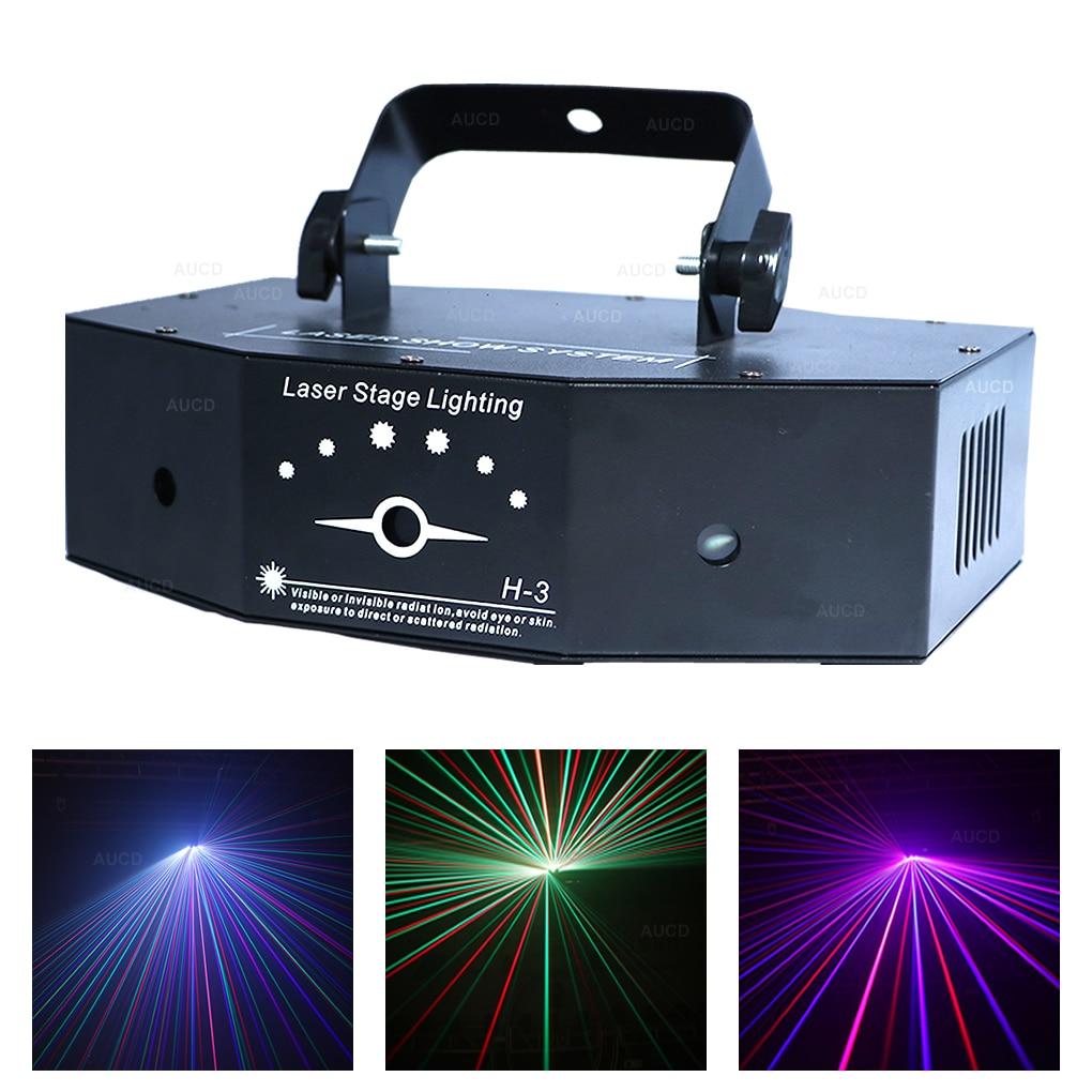 Disco Lights 2 Holes 48 Pattern Lights Sound Control Stage Lights KTV Bars Christmas Colorful Light 116