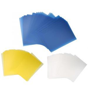 Image 5 - 50 قطعة A5/B5/A4 شفافة PP ملزمة غطاء الفيلم الناخس وثيقة المجلدات حماية الأوراق الداخلية