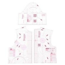 1:3 прозрачный портной квилтинг одежды прототип линейка инструменты DIY ручной работы для женщин ткань дизайн линейка шаблон черчения