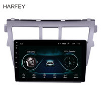 Harfey 9 Android 8.1 GPS Navigation System Radio For Toyota VIOS 2007 2012 Support TPM DVR 3G WiFi Remote Control Bluetooth