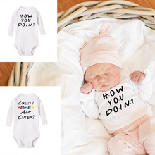 Outfits Bodysuits Babe Baby-Boys-Girls Jumpsuit Long-Sleeve Newborn Unisex How Doin You