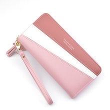 Новый чехол кошелек длинный женский кожаный бумажник с застежкой