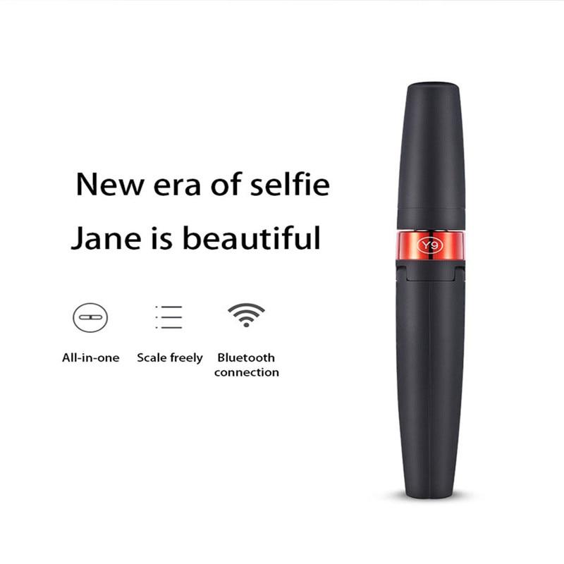 cheapest 2020 Newest  3 in 1 Wireless Bluetooth Selfie Stick Mini Portable Mobile Phone Tripod Foldable Selfie Stick Bluetooth Remote