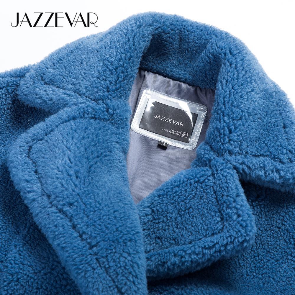 JAZZEVAR 2019 Winter new arrival fur coat women new fashion style teddy bear coat loose clothing