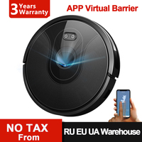 Robot Vacuum Cleaner ABIR X6, Visual Navigation,3200pa Suction, App Virtual Barrier,Draw Cleaning Zone,Ideal for Pet Hair Carpet