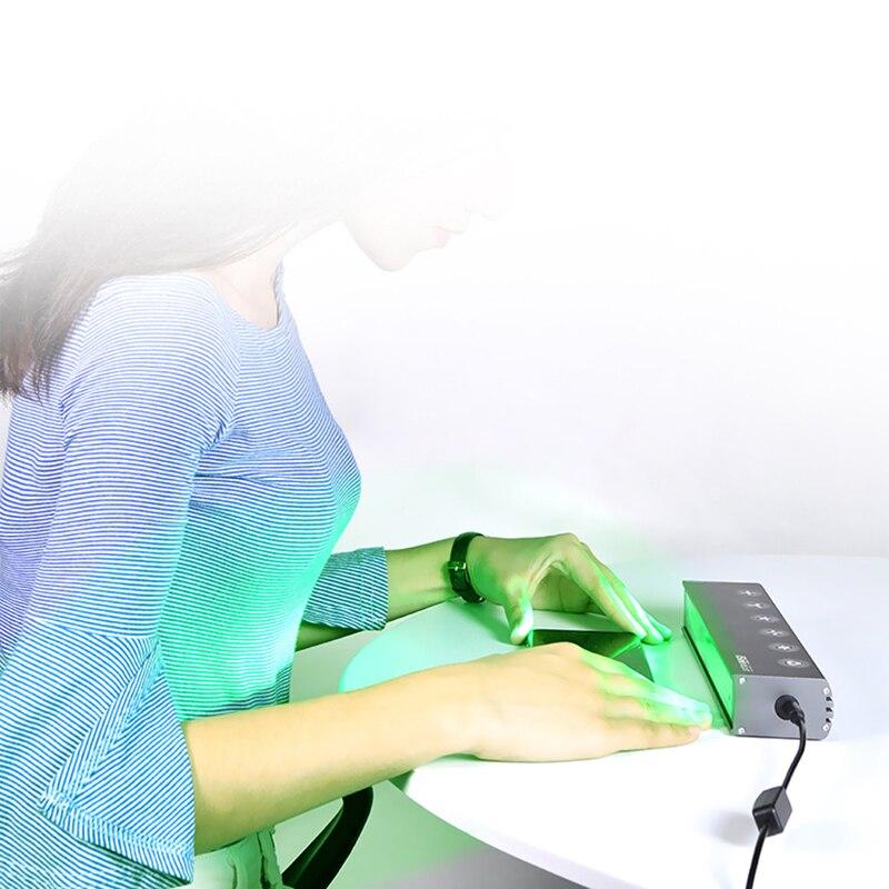 Купить с кэшбэком QIANLI iSee Dust Detection Lamp professional screen repair screen change tool 12V laser laser glass screen inspection tool