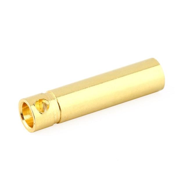 10 pcs 4.0mm Male&Femalel Banana gold Plug connectors For Battery ESC Motor 4