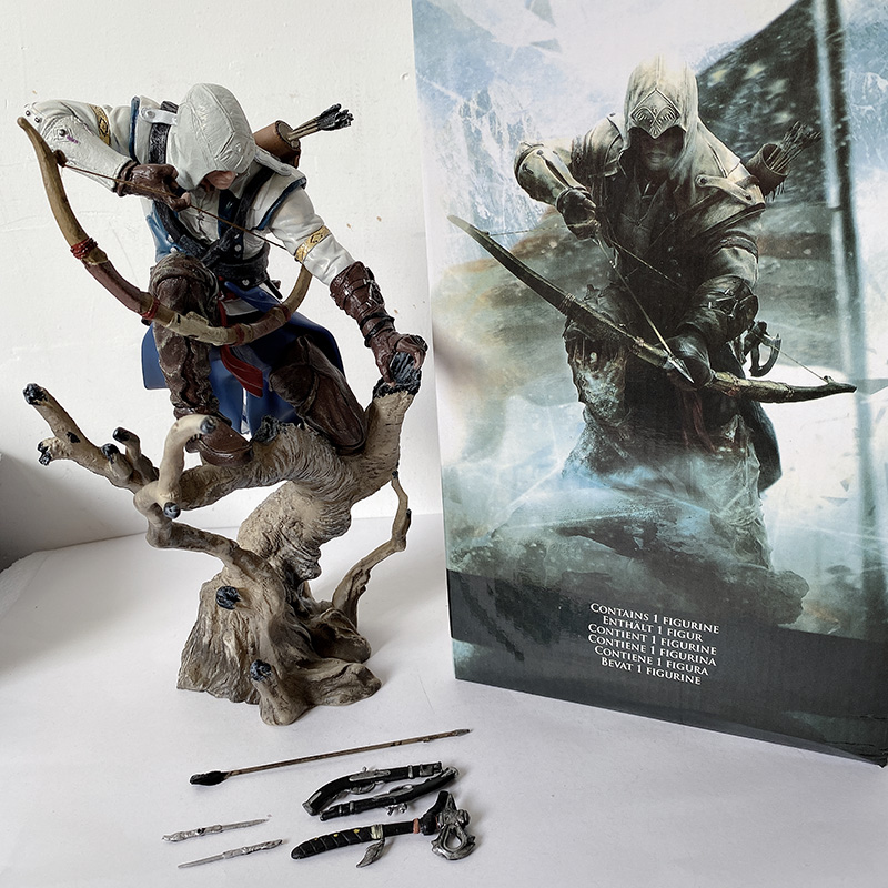 Origins Creed Figure Connor Action Figure Model Toy Gift 11inch 28cm