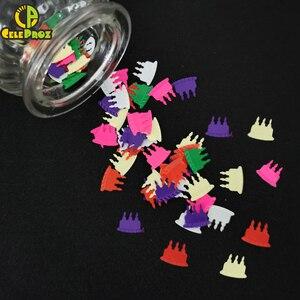 Image 5 - Confeti de 15g para cumpleaños, confeti de Cumpleaños feliz, aniversario, decoración de fiesta de cumpleaños, confeti, suministros de lentejuelas