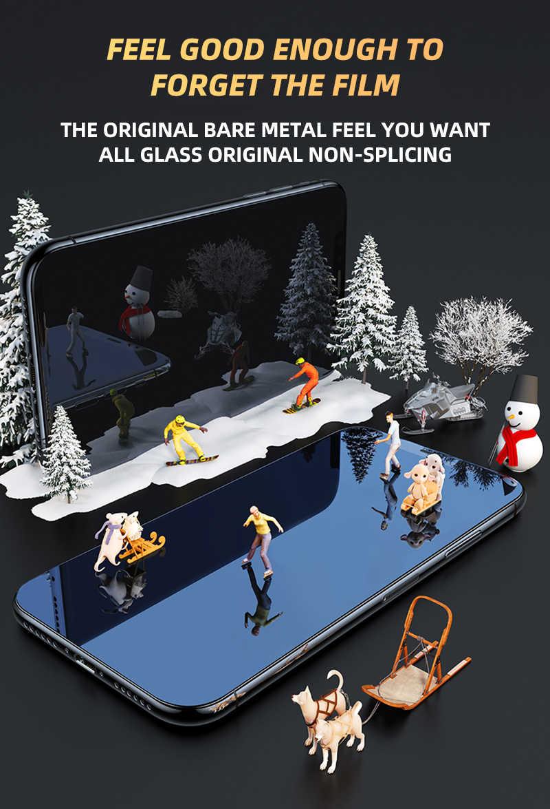 2 stuk Anti-Burst Beschermende Glas Op De Voor iPhone X XS XR 11 Pro Max Gehard Screen Protector voor iPhone 6 7 8 Plus Glas