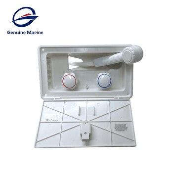 Genuine Marine White RV Exterior Shower Box Kit with Lock Boat Marine Camper Motorhome Caravan Accessories
