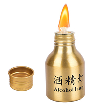 50ml Endurable en alliage daluminium recherche médicale chauffage chimie laboratoire équipement alcool brûleur poêle lampe avec mèche