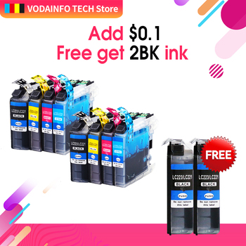 Inks Replace Compatible for Brother LC223 MFC J480DW J4420DW J5320DW DCP J4120DW J562DW 8pack or10pack