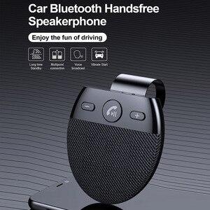 Image 3 - Phaany zestaw samochodowy Bluetooth bezprzewodowy zestaw głośnomówiący odbiornik Audio samochodowy odtwarzacz MP3 z obsługą mikrofonu 2 telefon podłączony