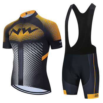 Northwave 2020 Cycling Sets Racing Clothes Summer Quick Dry MTB Bike Jersey Set Short Sleeve Professional NW Sportwear