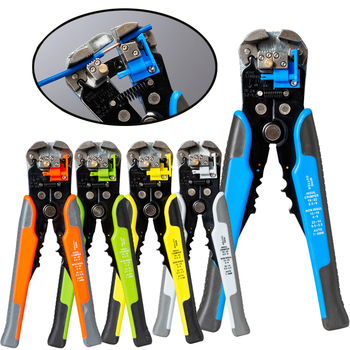 Wire stripper crimping pliers multi tool automatic manual Stripping plier for cutting capacity 0.2-6 mm² cutting peeling plier non welding crimping with standard electical connection crimping plier crimper capacity 6 5 50 square mm