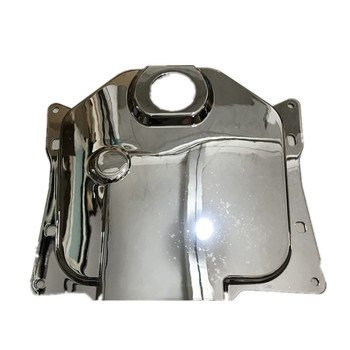 For Honda DIO ZOOMER AF58 Motorcycle Chrome fuel tank cap Plating Fuel tank cover image