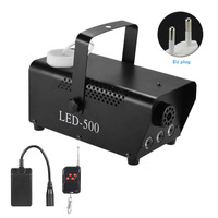 Wireless Portable Remote Control Smoke RGB Multi color Light Stage Party Fog Machine