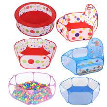 Toys Tent Ocean Series Cartoon Game Ball Pits Portable Pool Foldable Children Outdoor
