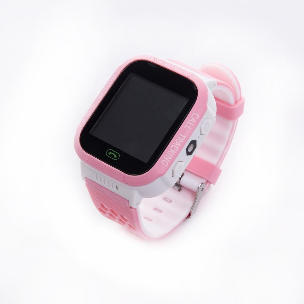 Children Kids Smart Watch LBS Positioning Tracker Not GPS SOS Call Safe Anti-lost Monitor Touch Screen Phone Watch Lovely Gift 5