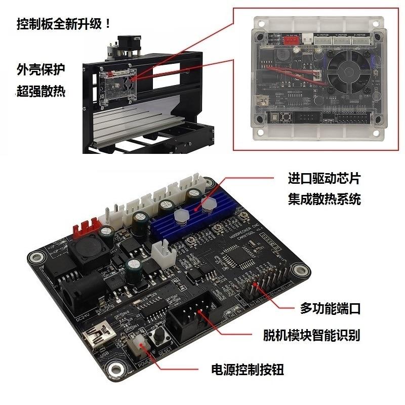 GRBL cnc gravírozó gép vezérlőpult, 3 tengelyes vezérlés, - Famegmunkáló gépek alkatrészei - Fénykép 5