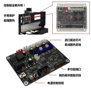 Image 2 - GRBL cnc engraving machine control board , 3 axis control,laser engraving machine board USB port