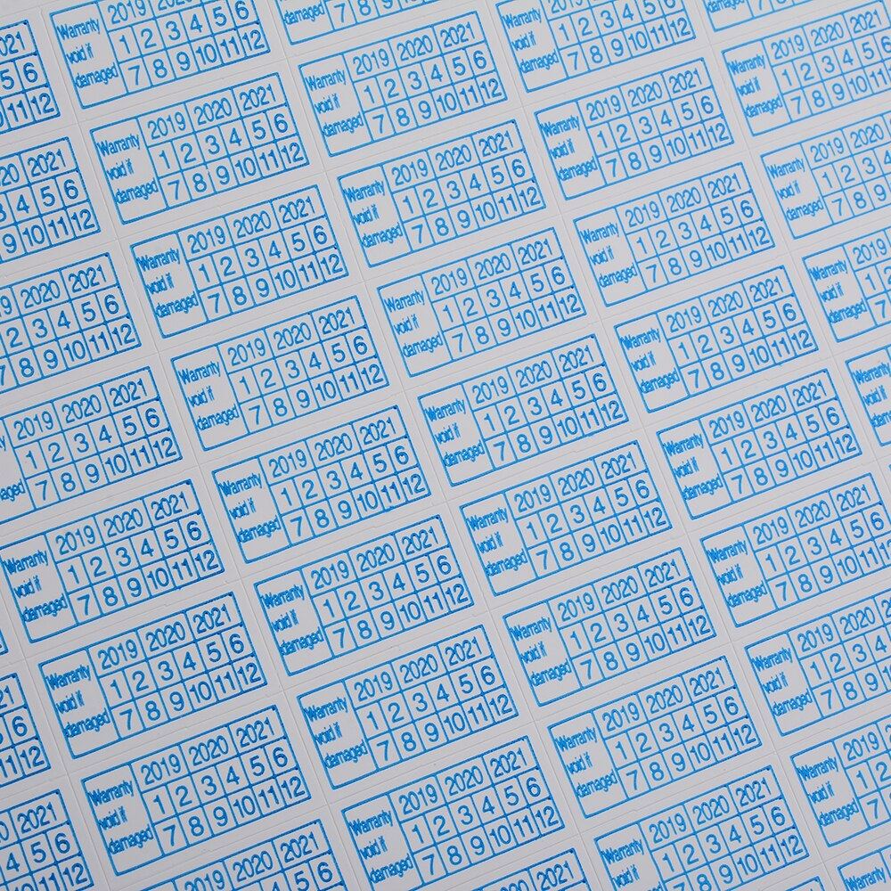 200pcs Warranty Damaged Protection Security Label Sticker Seal Fragile 2020-A!G