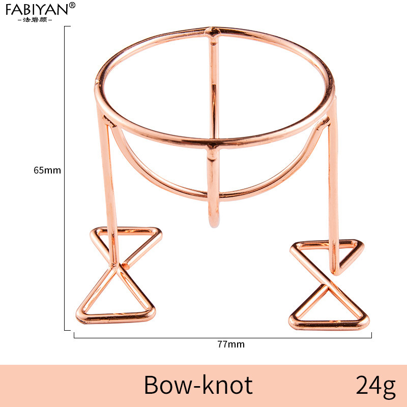 Rose Gold Bow-knot