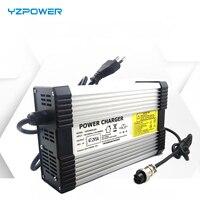 Yzpower 96.6 v 4a bateria li-ion lipomer de lítio de energia elétrica carregador para 84 v ebike bateria