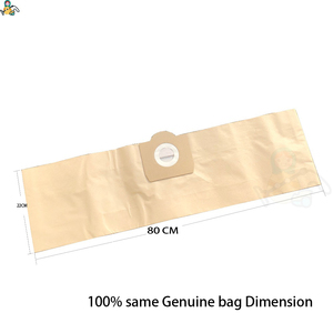 Image 2 - Filter dust bags for Karcher WD3 Premium WD 3.300  WD 3.200 WD3.500  SE4001 WD3 P 6.959 130 6.414 5520 cleaner parts