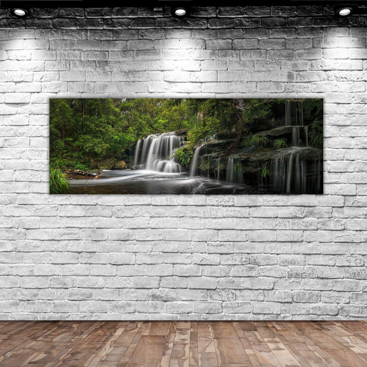 BK Home Landscape Panorama Canvas Table 100x35cm-5 Modern Convenient Reliable Decoration Gift Quality Design Simple Vicinity