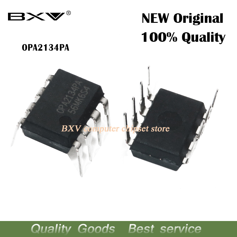 5PCS OPA2134PA OPA2134P DIP8 DIP <font><b>OPA2134</b></font> High Performance AUDIO OPERATIONAL AMPLIFIERS new and original image