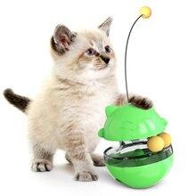 Engraçado pet tumbler vazamento comida bola brinquedo melhorar inteligência quebra-cabeça gato cão brinquedos aliviar ansiedade maschas suprimentos para gotas