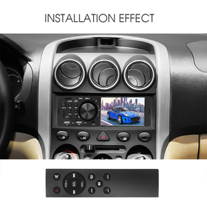 Image 5 - Bluetooth 4.0 Multimedia Autoradio FM Aux For Car Radio Rear Camera MP5 Stereo Audio 4.1 Inch HD Touch Screen MP3 Music Player