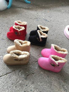 Shoes Buckle Non-Slip Toddler Girl Baby-Boy Kids Winter Children New Casual for C08191