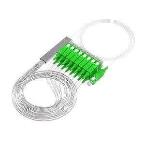 Image 3 - 10 Stks/partij Mini Splitter 1X16 1X8 1X4 1X2 Sm Sc Apc Plc fiber Splitter Pigtail Optic Splitter