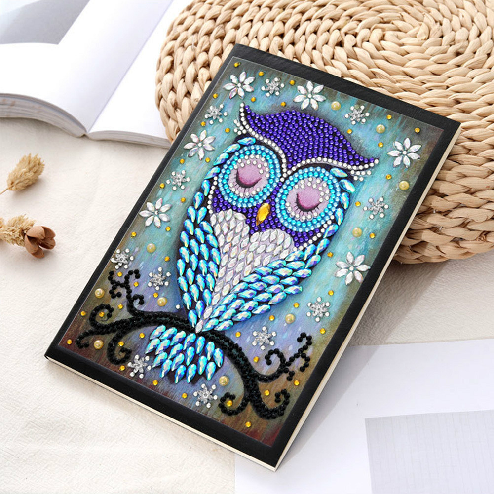 A5 Diamond Painting Notebook Planner Organizer Paper Planner Inner Page Ring Binder Diary Bullet Journal Notebook For Children