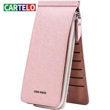 CARTELO Ladies long wallet zipper multi-card position woman