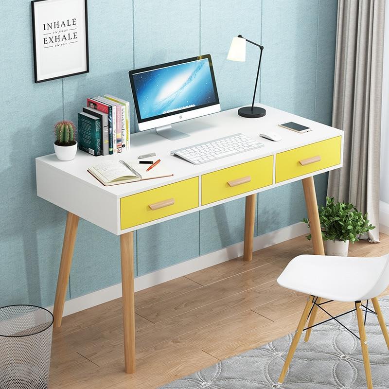 Desktop Computer Desk Table Office Household Bedroom Students Dormitory Learning Doing Homework Desk Minimalist Modern Economica