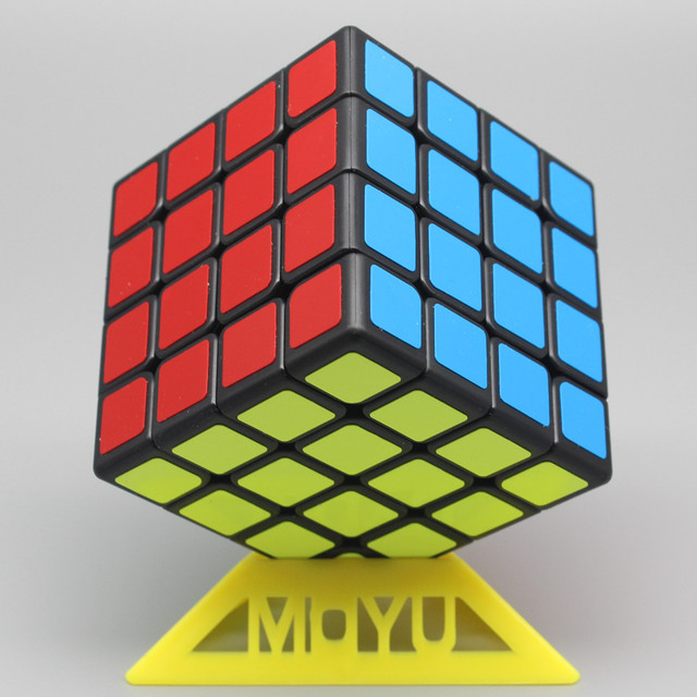 Moyu Meilong 4x4 Magic Cube 59mm Size Stickerless 4x4x4 Cubo Magico WCA Competition Learning&Educational Toys For Children 2