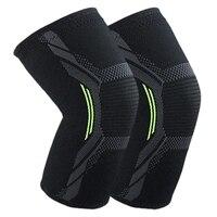 Rodilleras transpirables para baloncesto  fútbol  deportes  rodillera de voleibol de alta elasticidad  rodilleras de entrenamiento  rodillera de protección XL|Rodilleras|Seguridad y protección -