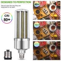 Super Bright Corn LED Light Bulb E27 6500K Daylight 5400 Lumens for Large Area Commercial Ceiling Lighting