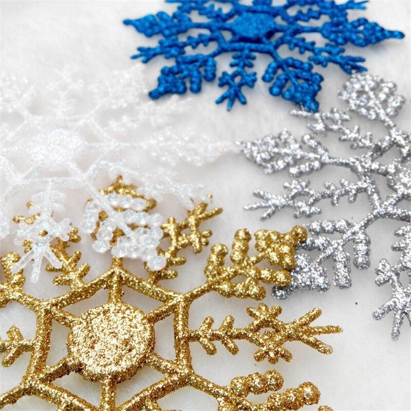 1pcs-10cm-Gold-Silver-Glitter-Powder-Snowflake-Xmas-Ornaments-Pendant-Christmas-Tree-Decor-Party-Wedding-Home(1)