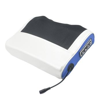 Elektryczna poduszka do masażu ogrzewanie na podczerwień szyja ramię powrót ciało Shiatsu urządzenie do masażu szyjki macicy zdrowy masaż i relaks tanie i dobre opinie Fastuby NECK Electric Massage Pillow Materiał kompozytowy Średni