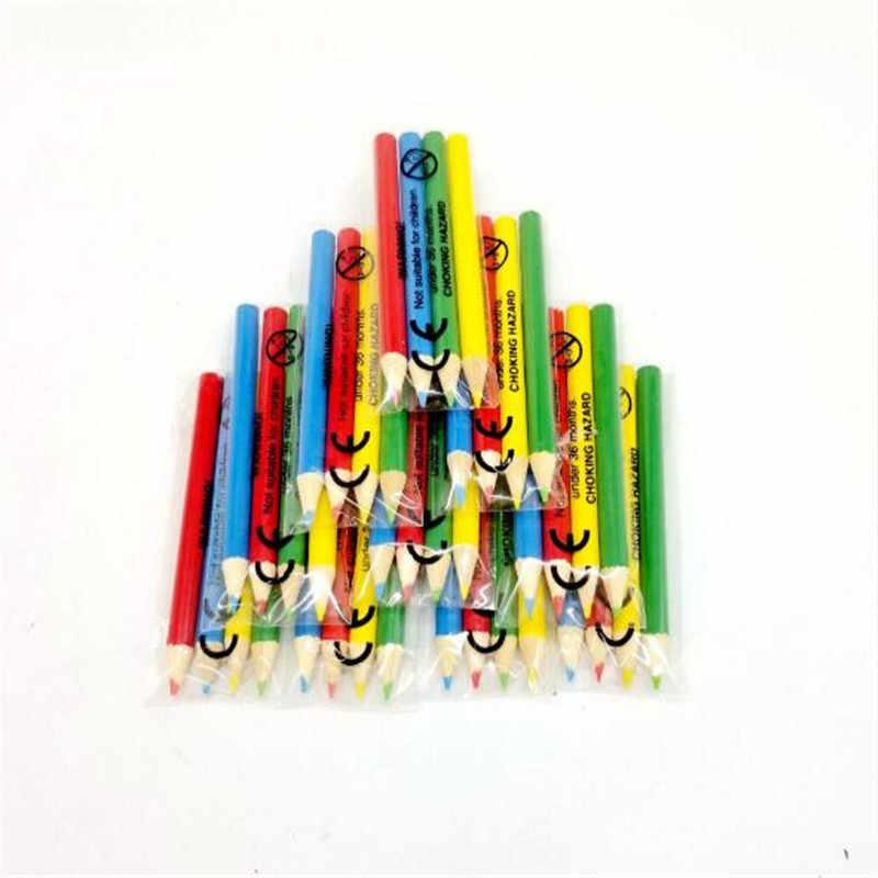 Promotional Miniature Marker 4 Packs Colored Pencils School Supplies Limited Time Buy Short Color Pencils Retail Wholesale