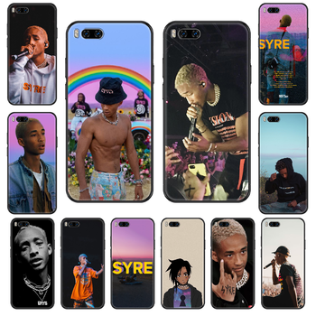 Jaden Smith Q1 Phone case For Xiaomi Mi 6 8 9 A1 2 3 Max3 Mix2 Mix2S X T Lite Pro black 3D Etui fashion back painting coque image